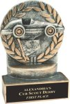 Racing - Wreath Resin Trophy All Trophy Awards