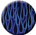 Ball Marker Blue Flames Golf Awards