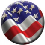 Ball Marker USA Flag Golf Gift Items